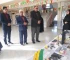 بازدید سرپرست اتحادیه خراسان رضوی از نمایشگاه «مدرسه انقلاب» مدارس گناباد