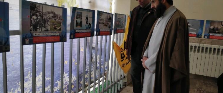 بازدید مدیرکل تبلیغات اسلامی خراسان رضوی از نمایشگاه «مدرسه انقلاب» مدارس دخترانه مشهد