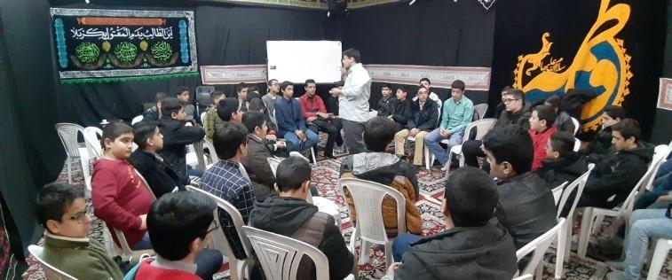 برگزاری پاتوق متوسطه اول برادران مشهد با موضوع «دهه فجر و مدرسه انقلاب»