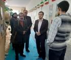 بازدید مشاور دبیرکل از نمایشگاه «مدرسه انقلاب» انجمن اسلامی دبیرستان پسرانه هاشمی نژاد ناحیه ۶ مشهد