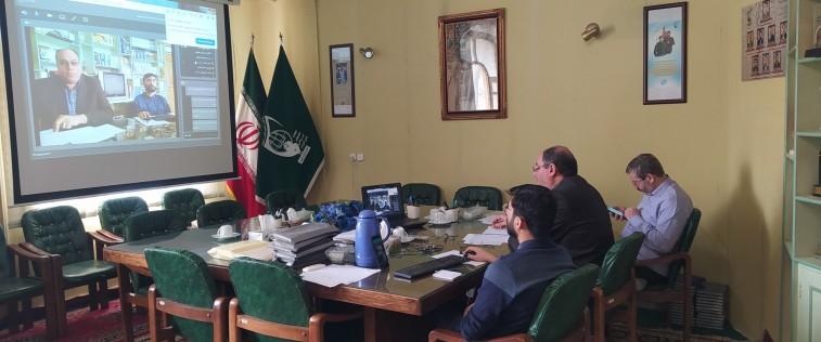 برگزاری نشست مجازی قرارگاه استانی پسران