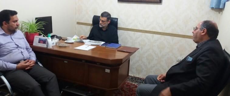 دیدار سرپرست اتحادیه استان با نمایندگان منتخب مردم مشهد و کلات در مجلس شورای اسلامی
