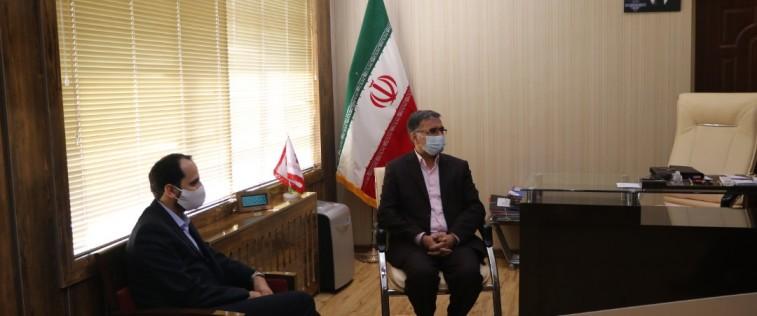 دیدار مسئول اتحادیه استان با مدیرکل آموزش و پرورش خراسان رضوی