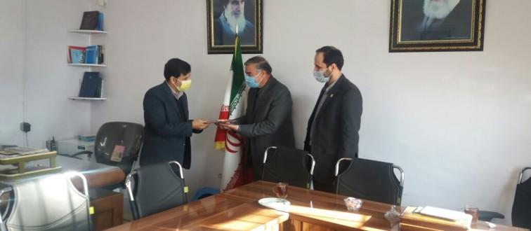 اعطای حکم سرپرستی اتحادیه انجمن های اسلامی دانش آموزان شهرستان زبرخان