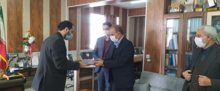 اعطای حکم سرپرستی اتحادیه انجمن های اسلامی دانش آموزان شهرستان خوشاب