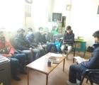 شرکت پسران انجمنی سبزوار در جلسات آموزشی «نمایشگاه مدرسه انقلاب»