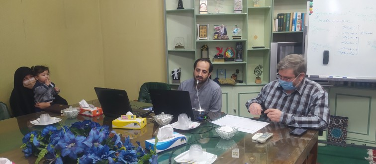 برگزاری جلسات مجازی مسئولین اتحادیه شهرستان های خراسان رضوی با موضوع «نمایشگاه های مدرسه انقلاب»