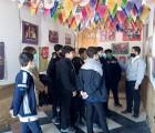 برگزاری نمایشگاه شهری «مدرسه انقلاب» در حرم مطهر رضوی
