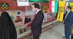 بازید مسئول اتحادیه خراسان رضوی از نمایشگاه شهری «مدرسه انقلاب» قوچان