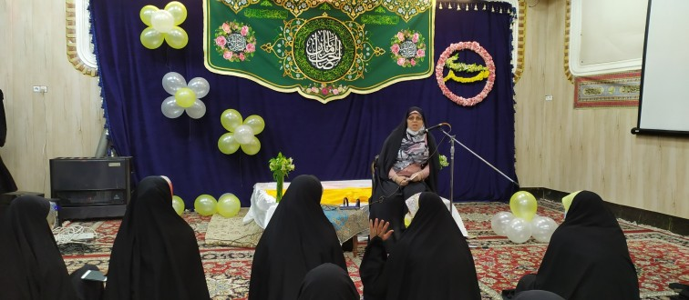 برگزاری جشن «نیمه شعبان» با حضور دختران انجمنی مشهد