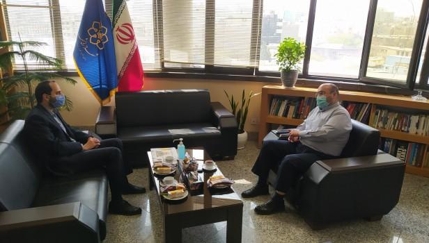 دیدار مسئول اتحادیه خراسان رضوی با سرپرست معاونت فرهنگی اجتماعی شهرداری مشهد