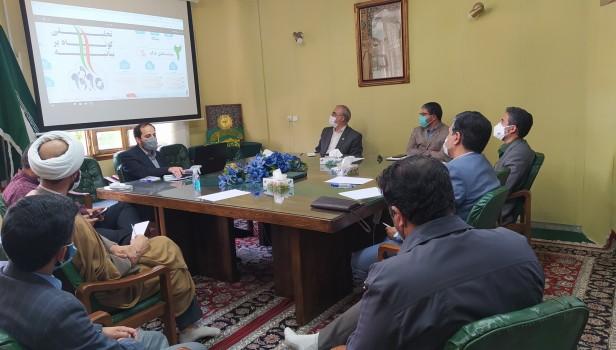 برگزاری شورای هماهنگی تشکل های دانش آموزی خراسان رضوی با موضوع «تبیین بیانیه گام دوم»