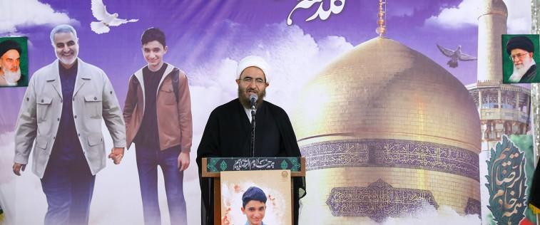 عزاداری نوجوانان رضوی در شهادت حضرت امام رضا علیه السلام و به یاد شهید «علی لندی»