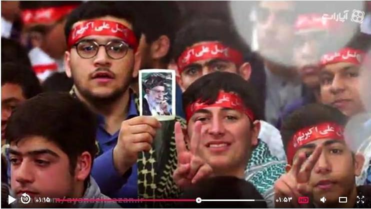 دیدار اعضای انجمن های اسلامی دانش آموزان با رهبر معظم انقلاب